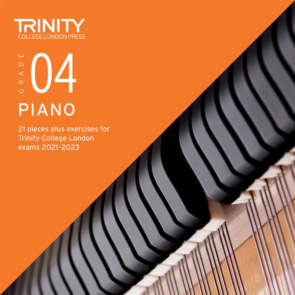 Trinity Piano Exam Pieces & Exercises 2021-23 Grade 4 CD Only