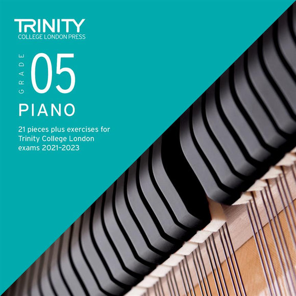 Trinity Piano Exam Pieces & Exercises 2021-23 Grade 5 CD Only