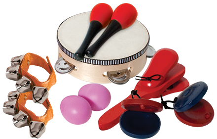 Mano 6-Piece Percussion Set with Bag
