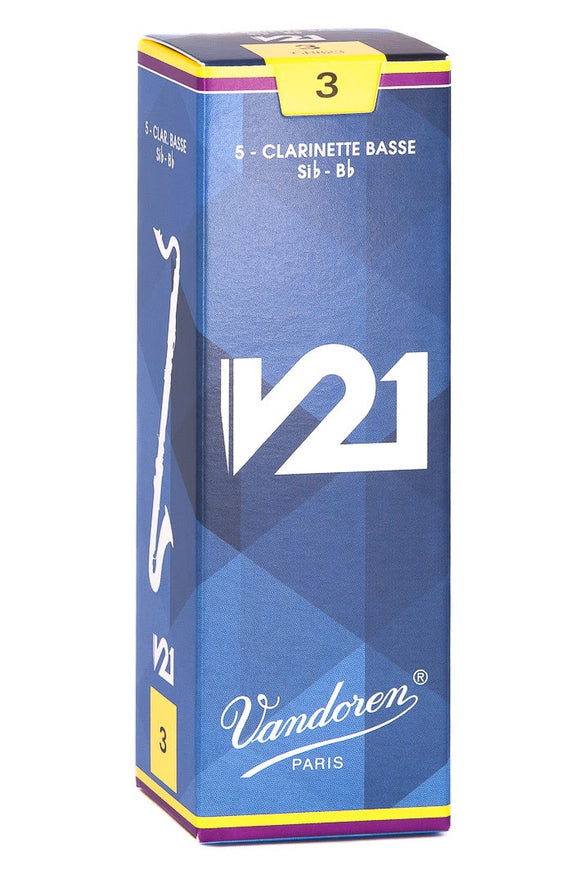 Vandoren Bass Clarinet Reed V21 5 Pack