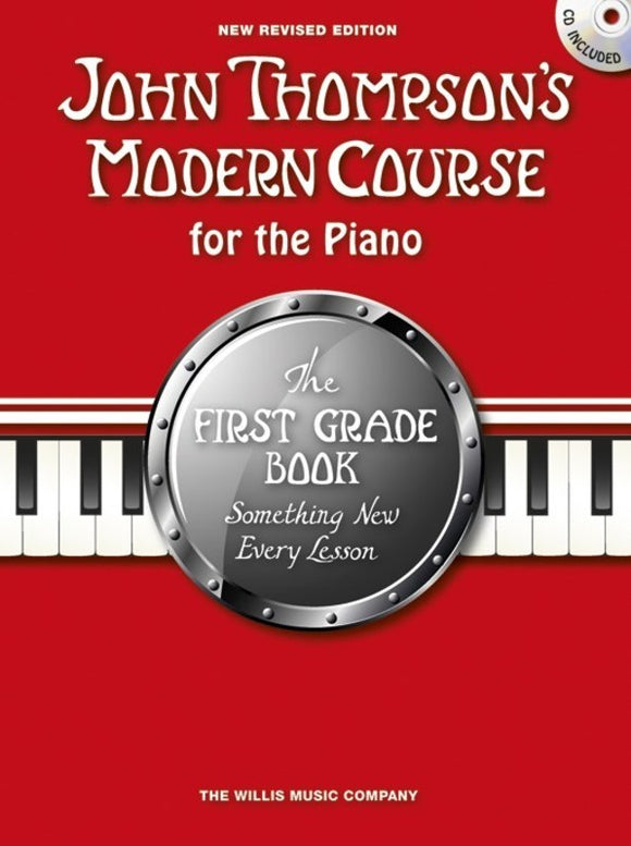John Thompson's Modern Course for the Piano - First Grade - with Audio Access