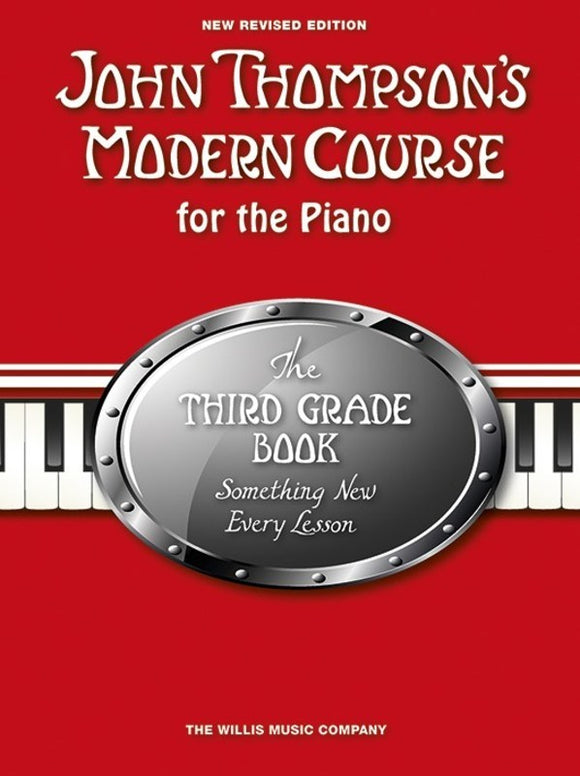 John Thompson's Modern Course for the Piano - Third Grade - without Audio Access