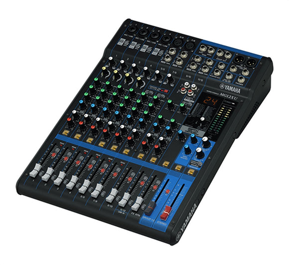 Yamaha MG12XU 12-Channel Mixer with Effects & USB