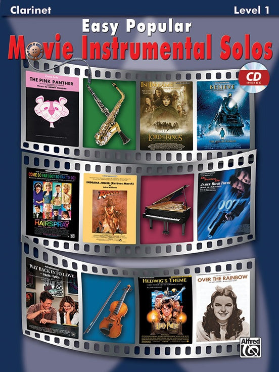 Easy Popular Movie Inst Solos - Clarinet