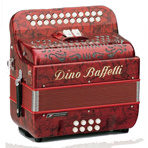 Dino Baffetti Irish 1 Button Accordion