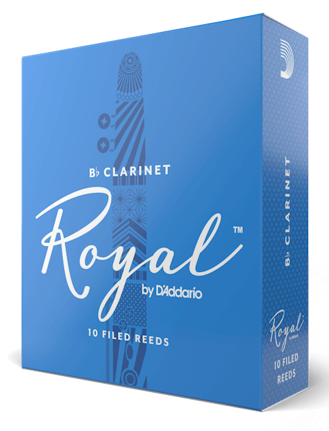 Rico Royal Bb Clarinet Reeds, 10-Pack