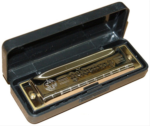 Golden Cup Harmonica KEY C