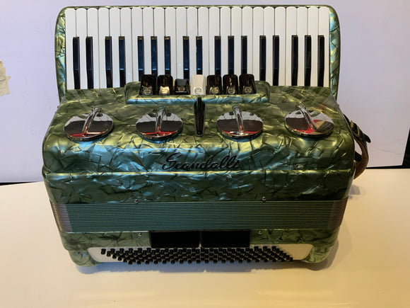 Scandalli 120 Bass Piano Accordion Second Hand