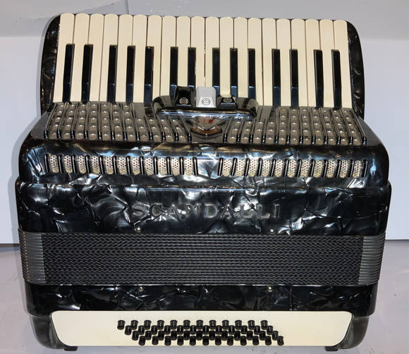 Secondhand Scandalli 48 Bass Piano Accordion