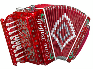 Dino Baffetti Art 22 Button Accordion