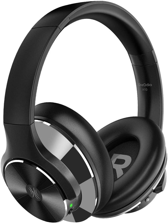 OneOdio A10 Wireless Active Noise-Cancelling Headphones with Mic