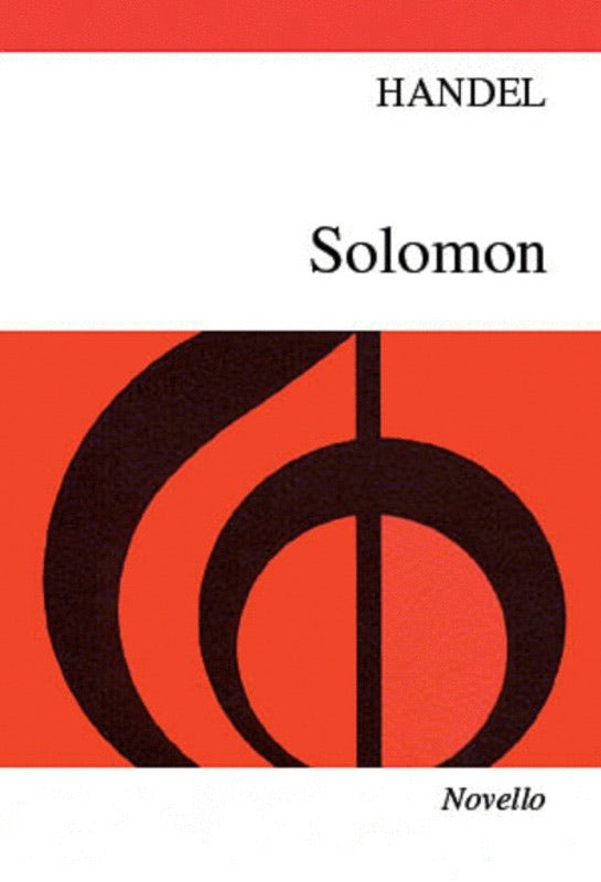 Handel: Solomon (SATB) Vocal Score