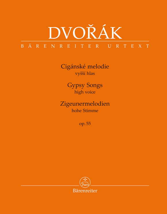 Dvořák: Gypsy Songs Op 55 for High Voice