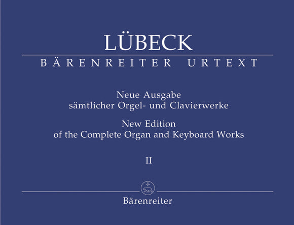 Lubeck: Complete Organ & Keyboard Works - Book 2