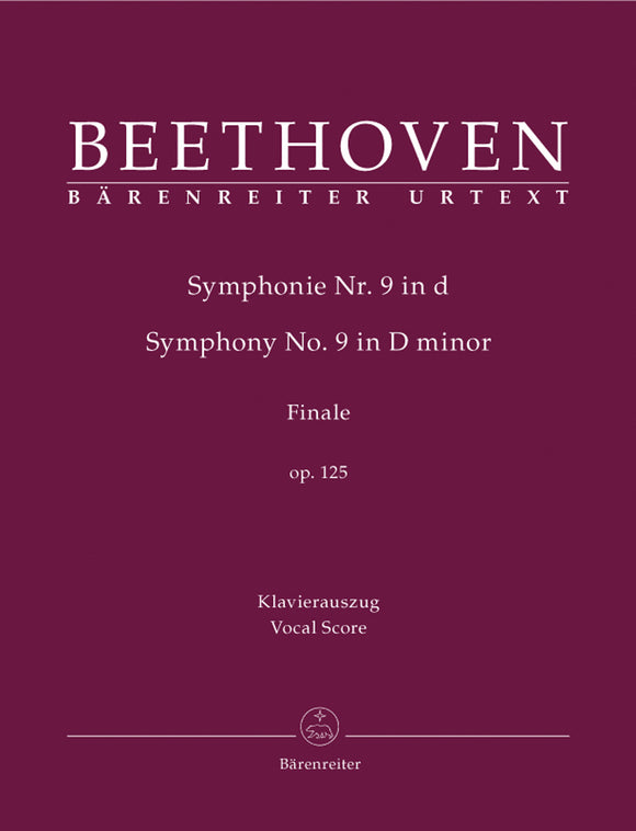 Beethoven: Symphony No. 9 - Vocal Score