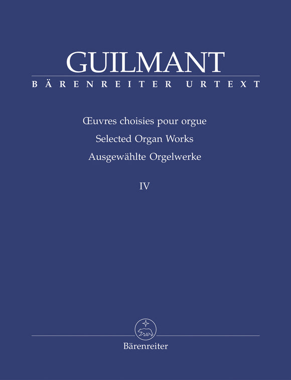 Guilmant: Selected Organ Works - Book 4