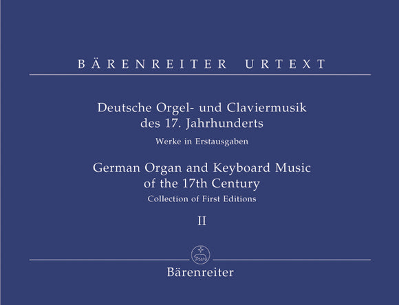 German Organ & Keyboard Music of the 17th Century - Vol 2