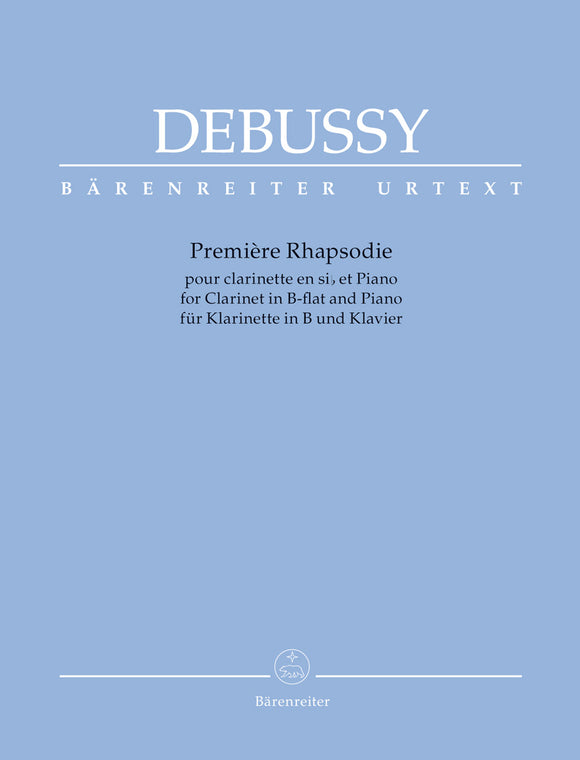 Debussy: Premiere Rhapsody for Clarinet & Piano