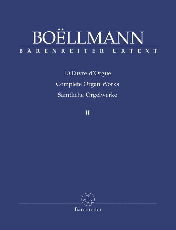 Boellmann: Complete Organ Works - Book 2
