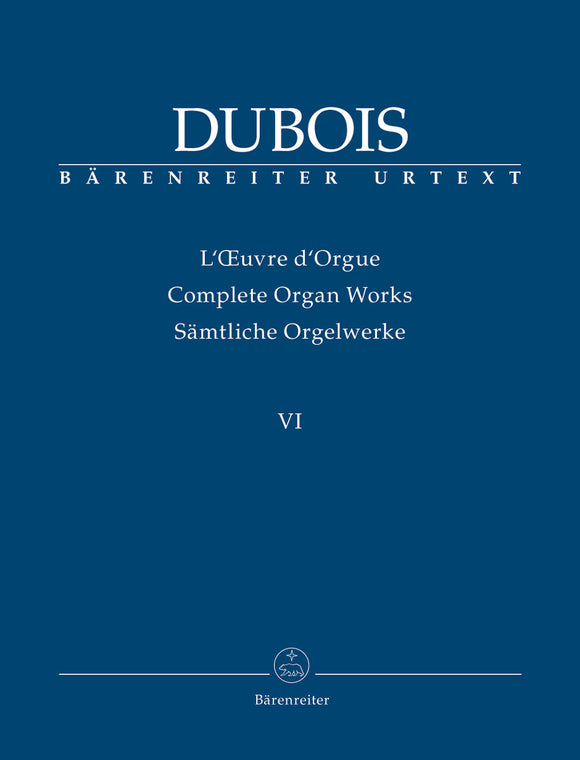 Dubois : Complete Organ Works - Vol 6: 42 Easy to Moderate Pieces for Organ without pedal
