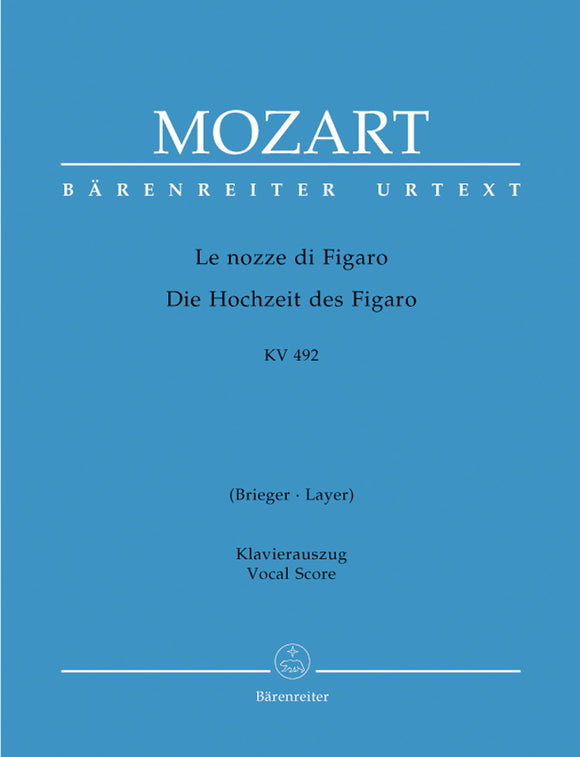 Mozart: Marriage of Figaro - Vocal Score