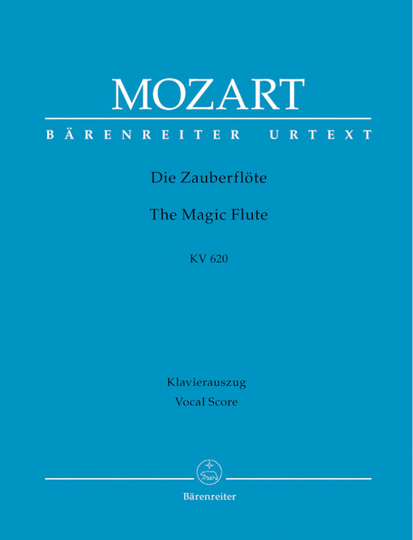 Mozart: Magic Flute KV620 Piano Reduction - Vocal Score