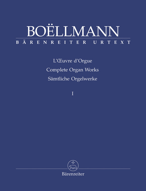 Boellmann: Complete Organ Works - Book 1
