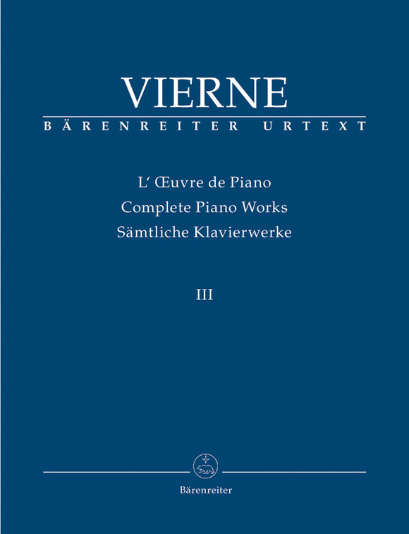 Vierne: Complete Organ Works - Vol 3