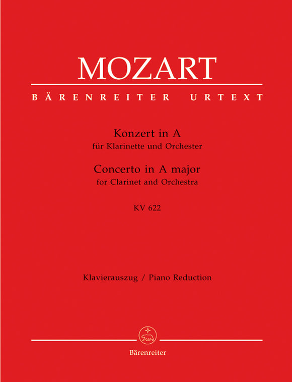 Mozart: Clarinet Concerto K622 - Clarinet in A Version