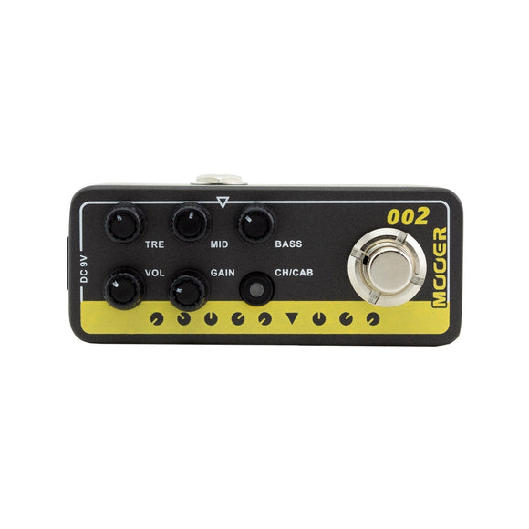 Mooer '002 - UK Gold 900' Digital Micro Preamp Guitar Effects Pedal