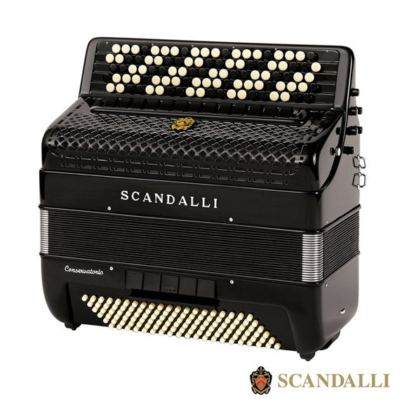 Scandalli Conservatory Bjc 442 Air 120 Bass