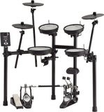 Roland V-Drums TD-1DMK Electronic Drum Kit with Free OneOdio Pro10 Headphones (worth $55)