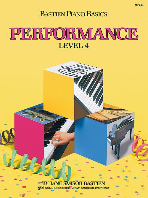 Bastien Piano Basics, Performance, Level 4