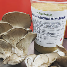 Load image into Gallery viewer, SOUP cream of mushroom ( plant based and gluten free)