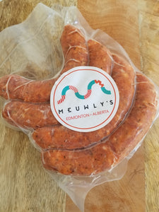 LOCAL MEATS: SAUSAGES by MEUWLY'S