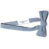 The Essential Bow Tie - Blue Chambray