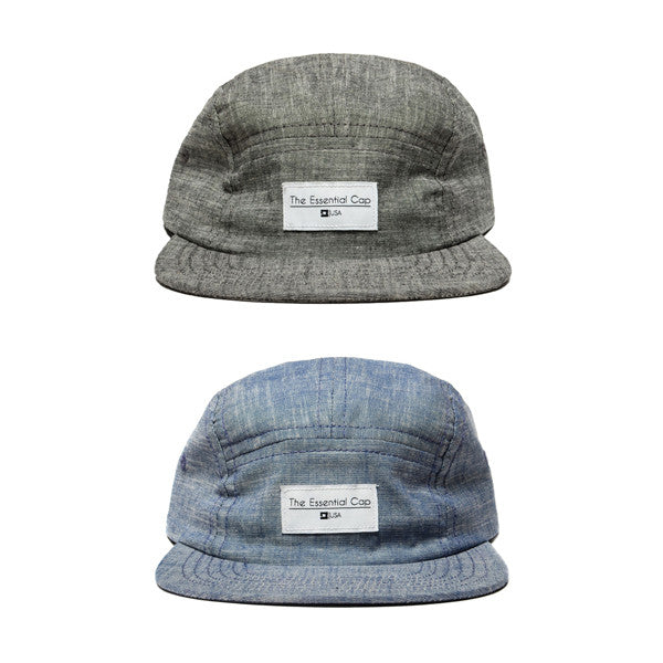 The Essential Cap - Chambray
