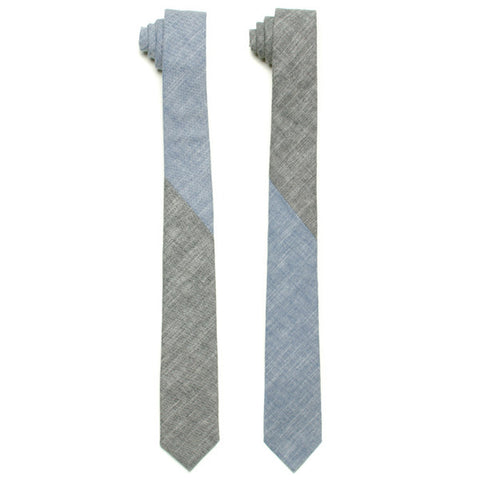 The Essential Tie - Duo Chambray