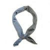 The Essential Handkerchief - Duo Chambray