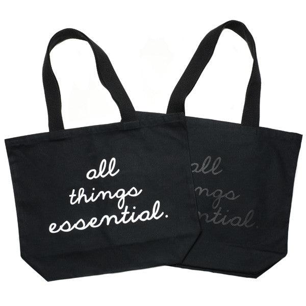 """All Things Essential"" Tote - Black"