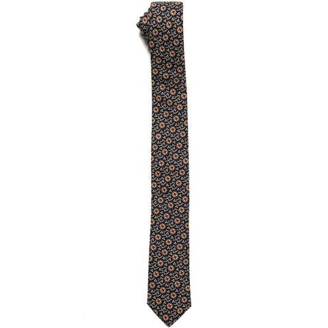 The Essential Tie - Japanese Floral Dot