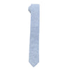The Essential Tie - Striped Chambray