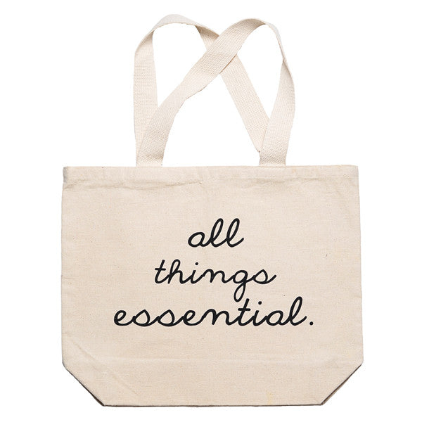 """All Things Essential"" Tote"