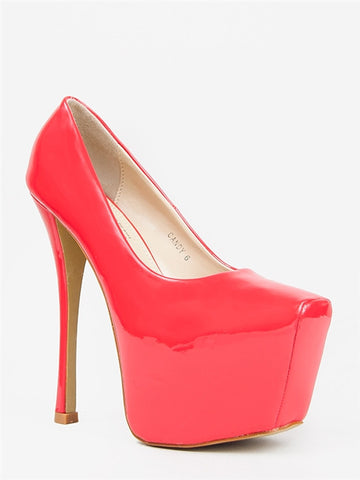 Red Kiss CANDY Pump
