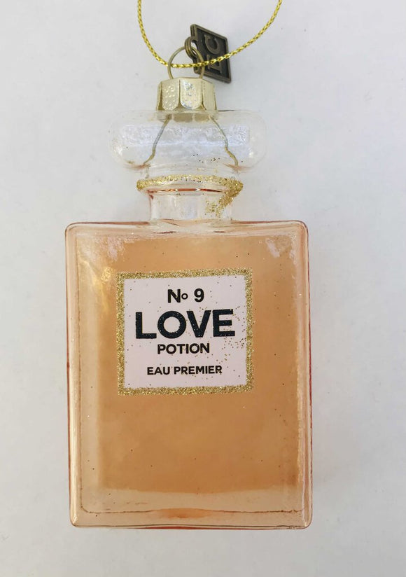 14125 Love Potion No.9 Ornament, Glass 3.5