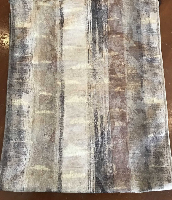 Riviera Table Runner-16 x 76, Tans/Browns
