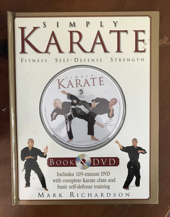 Simply Karate Book/DVD