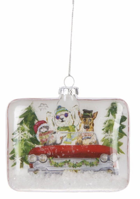 14271 Joyride Scene Ornament