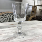 8272 Glass Goblet 6.5""
