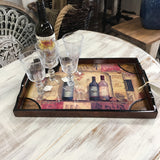 12110 Wine Bottle Tray-Large